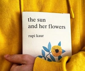 book, the sun and her flowers, and fashion image