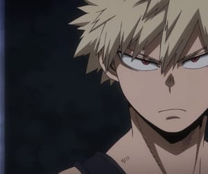 anime, boku no hero academia, and bakugou image