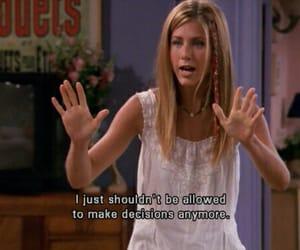 Jennifer Aniston, sitcom, and tv show image