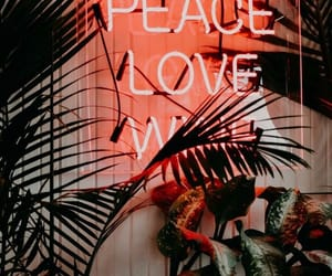 wallpaper, love, and peace image