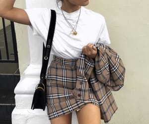 bag, fashion, and skirt image