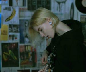 bass, girl, and grunge image