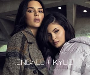 fashion, kylie jenner, and kendall jenner image