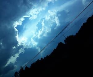 blue, light, and sky image