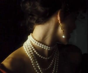 anna karenina, keira knightley, and pearls image