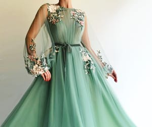 dress, haute couture, and fashion image