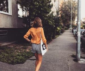 autumn, bag, and orange image
