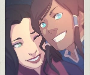 avatar, lok, and asami sato image