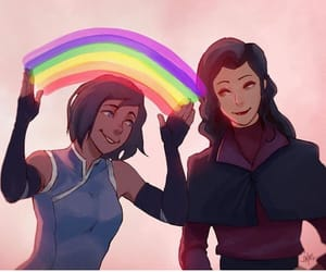 avatar, lok, and asami image