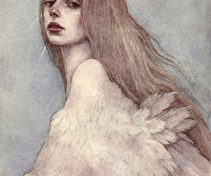 Odette, Swan, and swan maiden image