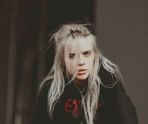billie eilish, billie, and hair image