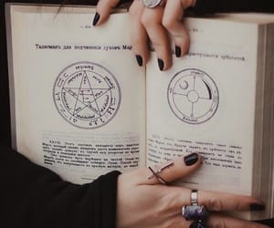 witch, book, and wicca image