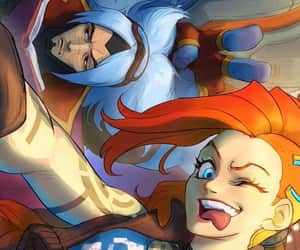 lol, jinx, and league of legends image