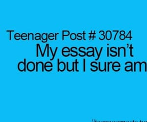 done, essay, and teenager post image