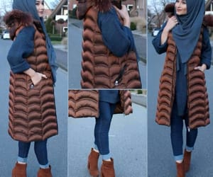 winter clothes, hijab fashion, and proud to be muslim image