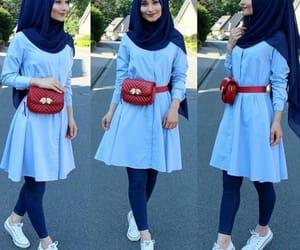 beautiful, street, and hijab girls image