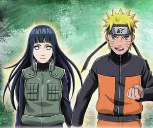 anime, naruhina, and hinata image