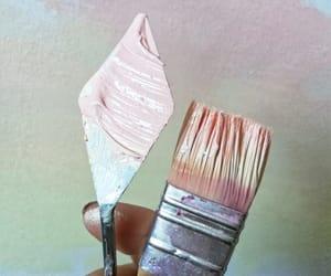acrilic, art, and brush image