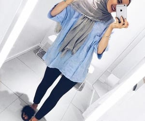 Beautiful Girls, Girls Fashion, and hijab fashion image