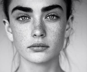beauty, eyebrows, and eyes image