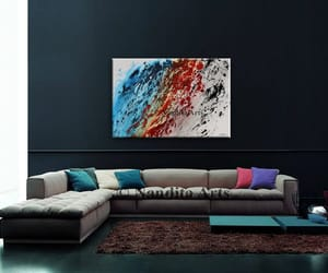Abstract Painting, painting on canvas, and originalpainting image