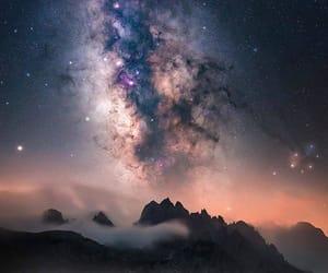 nature, night, and sky image