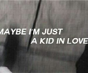 kid, song, and love image