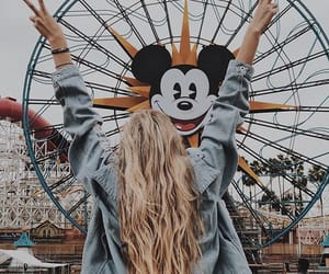 girl, blonde, and disney image