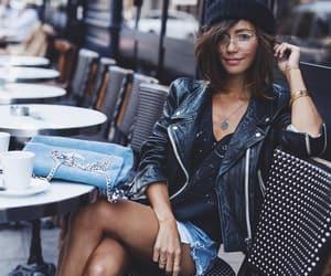 fashion blogger, Isabel marant, and levis image