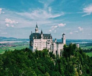 beautiful, castle, and magic image
