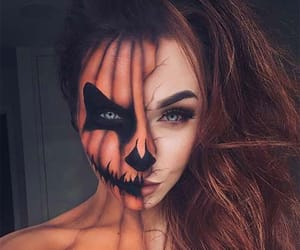 Halloween, halloween make up, and halloween makeup ideas image