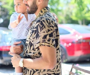 baby, daddy, and karim benzema image