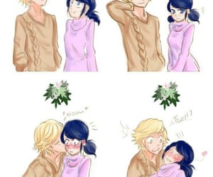 Adrien, marinette, and miraculous ladybug image