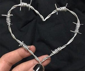 chain link, cool, and love image