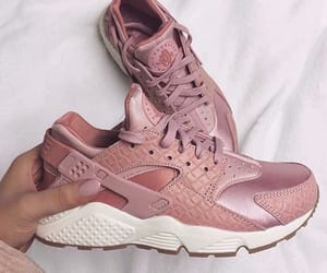 feed, pink, and shoes image