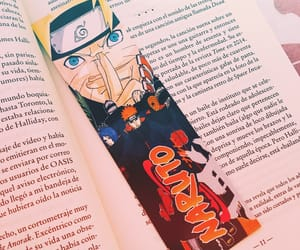 books, naruto, and read image