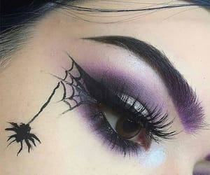 halloween make up, halloween make up ideas, and halloween eye make up image