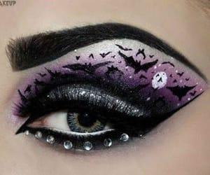 halloween make up ideas, halloween eye make up, and halloween make up image