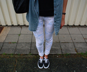 fashion, flowerprint, and hipster image