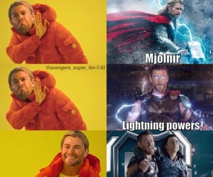 lol, Marvel, and thor image