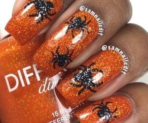 Halloween, halloween nails, and halloween nails designs image
