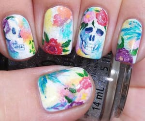 Halloween, halloween nails, and halloween nail art image