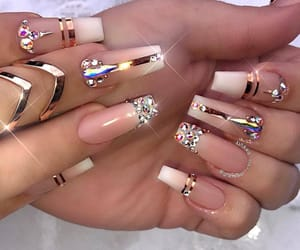 acrylic, beauty, and nails image