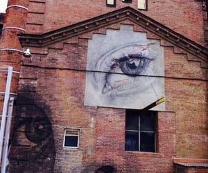 art, eyes, and grunge image