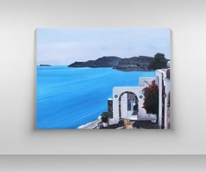 etsy, greek island, and greek art image