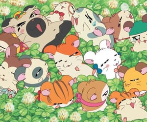anime, soft, and hamtaro image