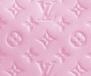 louis, pink, and vuitton image