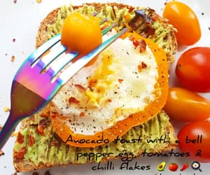breakfast, healthy diet, and fitspo image