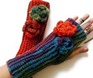 etsy, gloves women, and women fingerless image