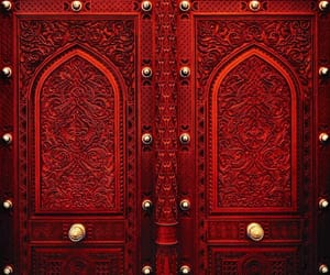 architecture, doors, and Le Monde image